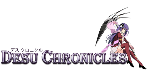 Desu Chronicles Logo by DrunkenAnt