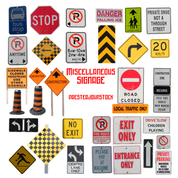 Miscellaneous Signage by presterjohnstock