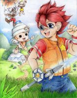 Hikaru and Pipotchi to the Rescue! by X-Seion-X