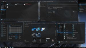 SteamyBlue Windows10 Theme by F3niX69