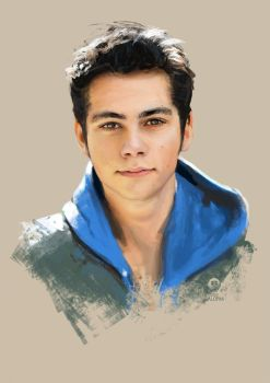 Dylan O'Brien portrait by DavidGalopim
