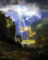 Majestic - A.Bierstadt by Winterkeep