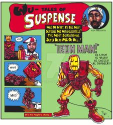 Ghostface-IRONMAN by 555DRE