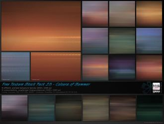 Texture Stock Pack 28 - Colours of Summer by Hexe78