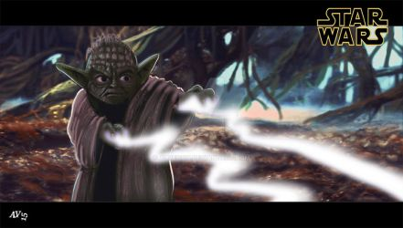 Yoda - Star wars by alvenon