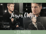 Jensen Ackles | Set Supernatural by N0xentra