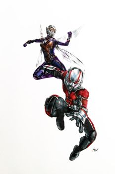 Ant-Man and the Wasp by MattWArt
