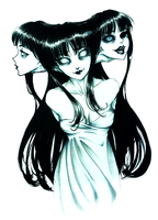 Tomie - Rebirth by SketchMeNot-Art