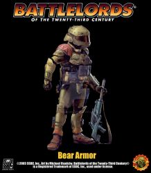 Battlelords Bear Systems Armor by Battlelords