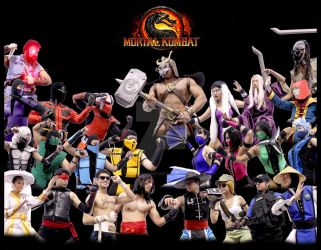 MORTAL KOMBAT! + Cosplay video by miyavihoney