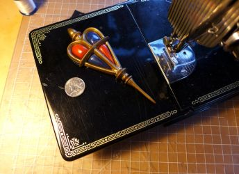 Mephisto Pheles brooch by chilmarkgryphon