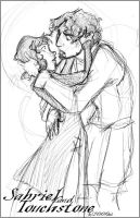 Sabriel and Touchstone by lberghol
