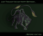 HAPPY 18TH BIRTHDAY TRISS :D by Morgoth883