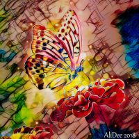 Abstract Butterfly by AliDee33