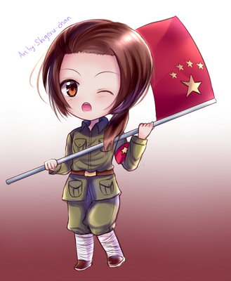 Hetalia China by shigeru-chan