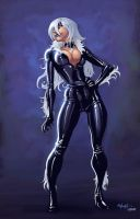 Black Cat Color by redeve