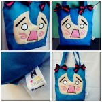 miku hatsune fanmade bag by akirepower