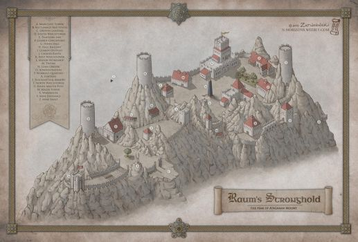 Raum's Stronghold by N-Horizons