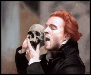 Hamlet played by Damian Lewis by hellbull