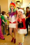 Holiday Matsuri: My Little Ponies by Figmentsmedia
