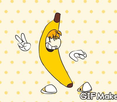 RAYMAN BANANA by xXRay-PhoenixXx