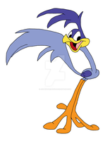 Road Runner - The Looney Tunes Show Style-Colored by aoi-watarimono