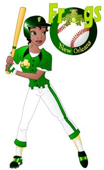 Disney Athletes: Tiana by Willemijn1991