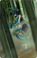 Bamboo Forest by xuza
