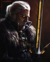Witcher by Lotsmanov