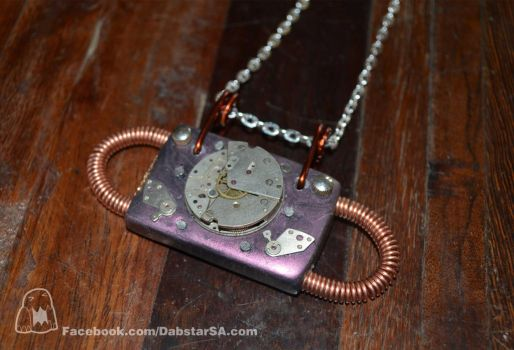 Sacred Steampunk Pendant 004 by Dabstar