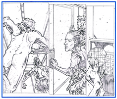 NAKED MAN AT THE END OF TIME - Page 17 Pencils by KurtBelcher1