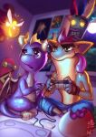 Spyro vs Crash by Ry-Spirit