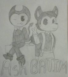 Ask BATIM (Bendy And The Ink Machine) by lovingkitten29