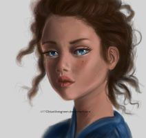 Portrait study by Bluelikesgreen