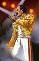 Freddie Mercury by ToastieMan