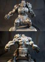Planet Hulk finished sculpt by AliasGhost
