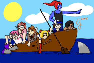 The Fandom Boat by SpiceJelly