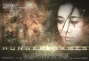 District 4 Female HG Poster by heatona