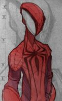 Amazing Spider Man sketch by Wagnr
