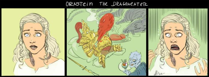 Ornstein The DragonEater by maDdoxMDJ