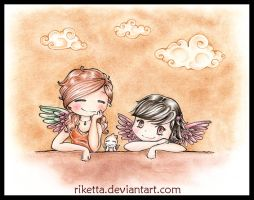 .:My Angels II:. by riketta