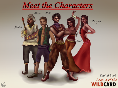 Legend of the Wildcard: Meet the Characters by AndreeaLupsaNL