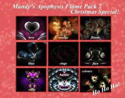 Christmas Special Flame Pack by mfcreative