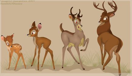 A deer's development by MilGoncalez
