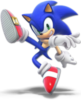 Super Smash Bros. Ultimate - Sonic - Render by CynicSonic