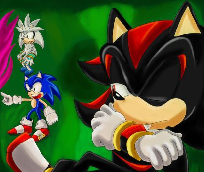 Shadow Is Not Impressed by SonicForTheWin2