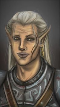 Zevran Arainai by ArniArt