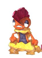 Pokemon Artwork: Scrafty