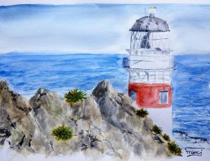 Lighthouse study by Booksdust