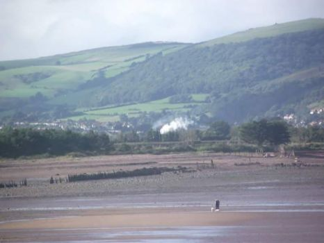 Steam coming into view by kirk12Lumiere